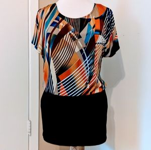 TEEZE ME Unique split sleeve dress
